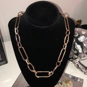 Jewelry - Gold plated chain necklace!!